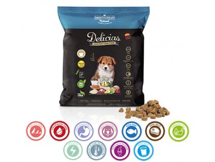 semi moist polovlhke makke krmivo pre psy a steniatka typu frolic