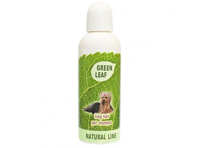 BIO sampon pre psy s dlhou srstou Green Leaf
