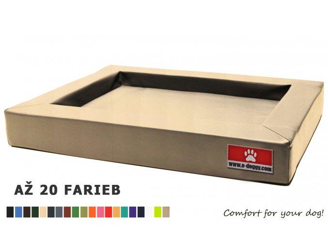 matrac pre psa z EKO kože s pamäťovou penou-matracom