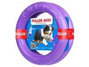 Výcviková pomôcka PULLER MIDI - 2 krúžky (priemer 20cm)