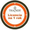 tracker licencia