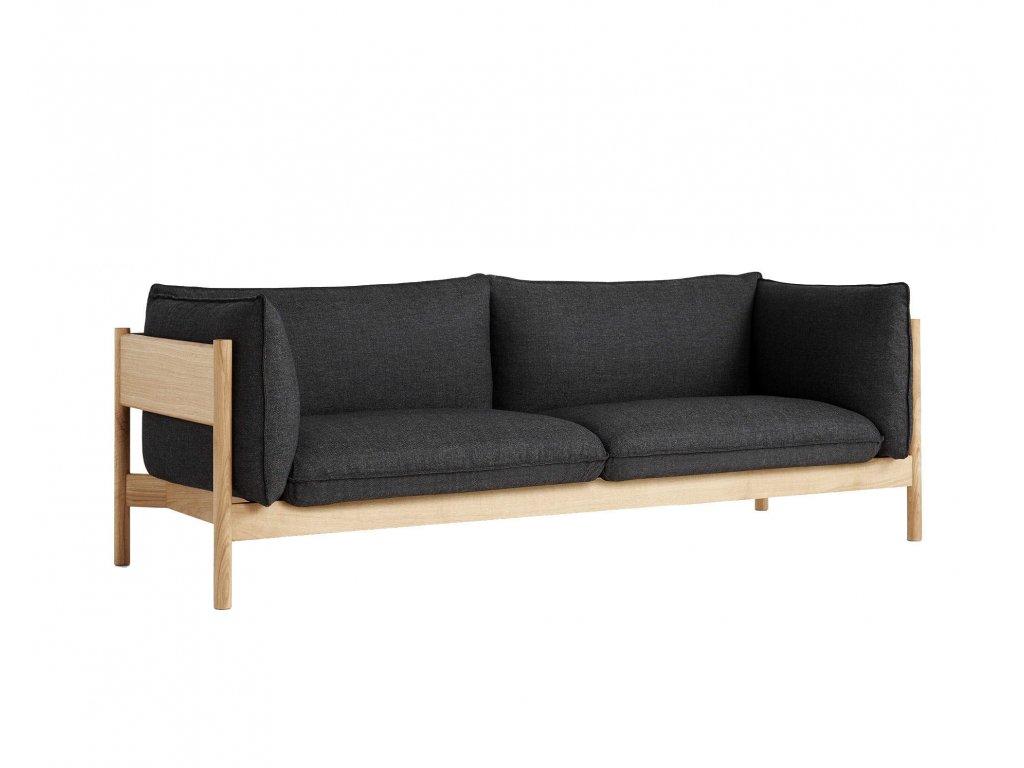 Hay ARBOUR 3 - solid oak / Re-Wool 198
