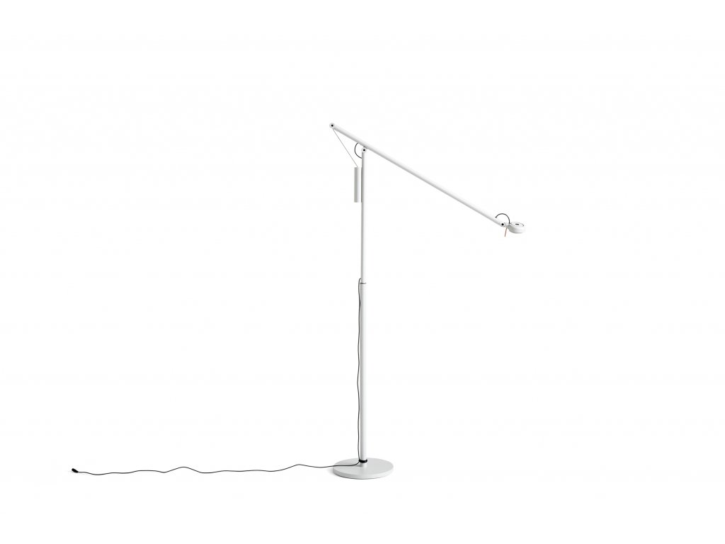 4102132009000 Fifty Fifty Floor Lamp ash grey