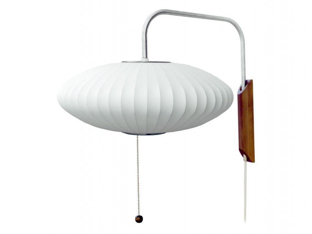bubble lamp wall sconce saucer george nelson herman miller 2