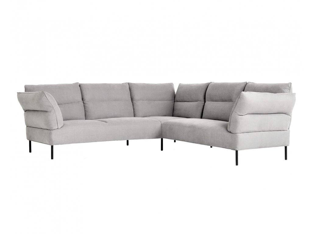 Hay PANDARINE corner - Linara 443 / Black Oak, reclining