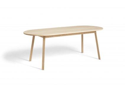 2575012009000 Triangle Leg Table L200xW85xH74 soaped oak