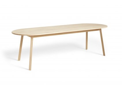 2575022009000 Triangle Leg Table L250xW85xH74 soaped oak