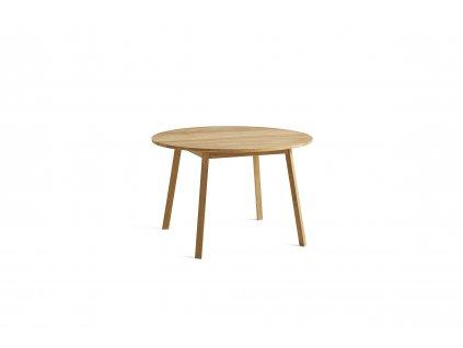 2575031009000 Triangle Leg Table dia115xH74 oiled oak 02