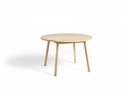 2575032009000 Triangle Leg Table dia115xH74 soaped oak