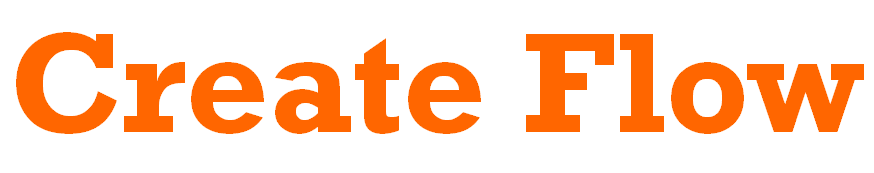 Create Flow logo