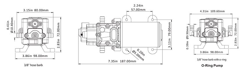 Čerpadlo hydroponie 24 V Create Flow
