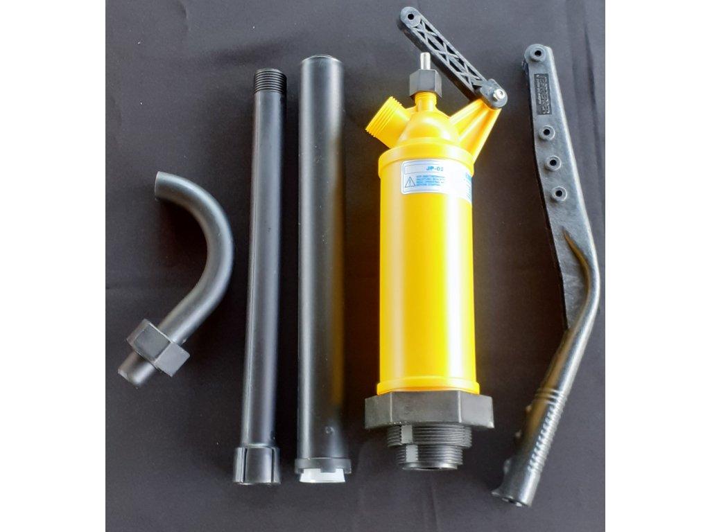 čerpadlo pro laboratoře Manuál pump žlutá 1