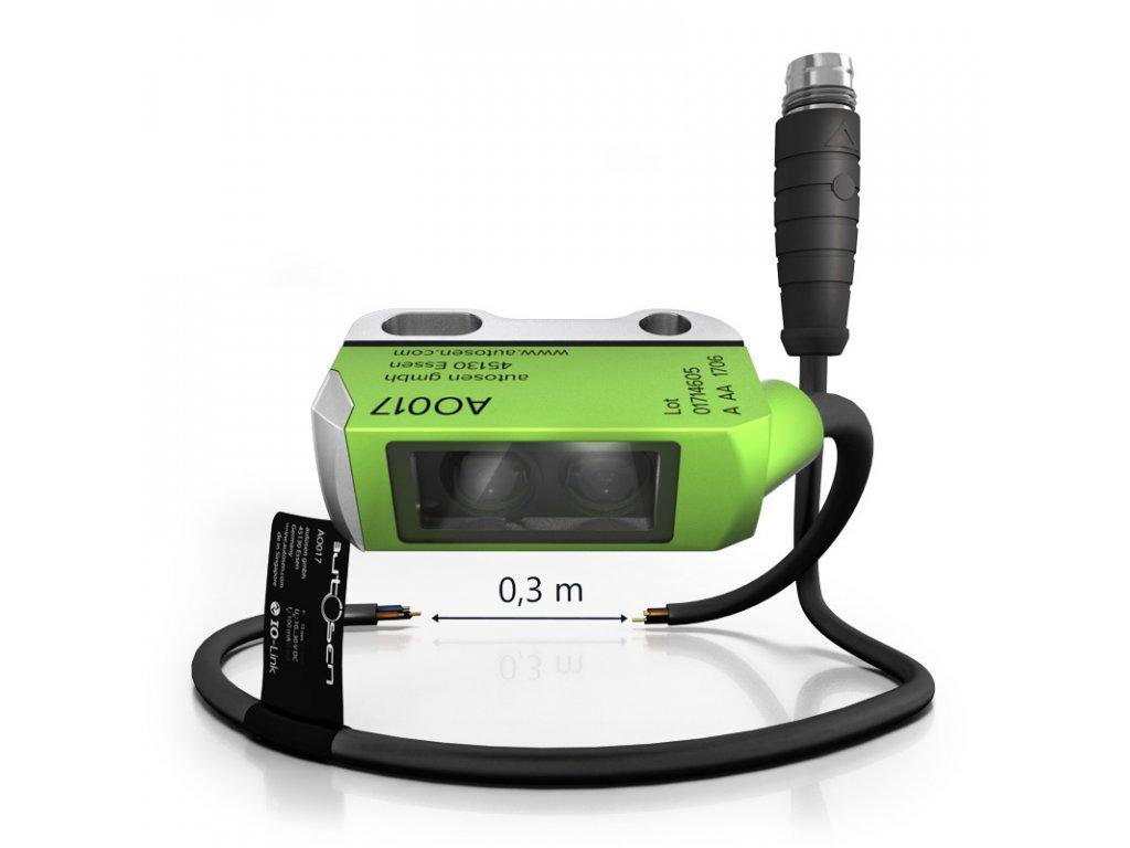AO017 Mini optický snímač s krytem PA