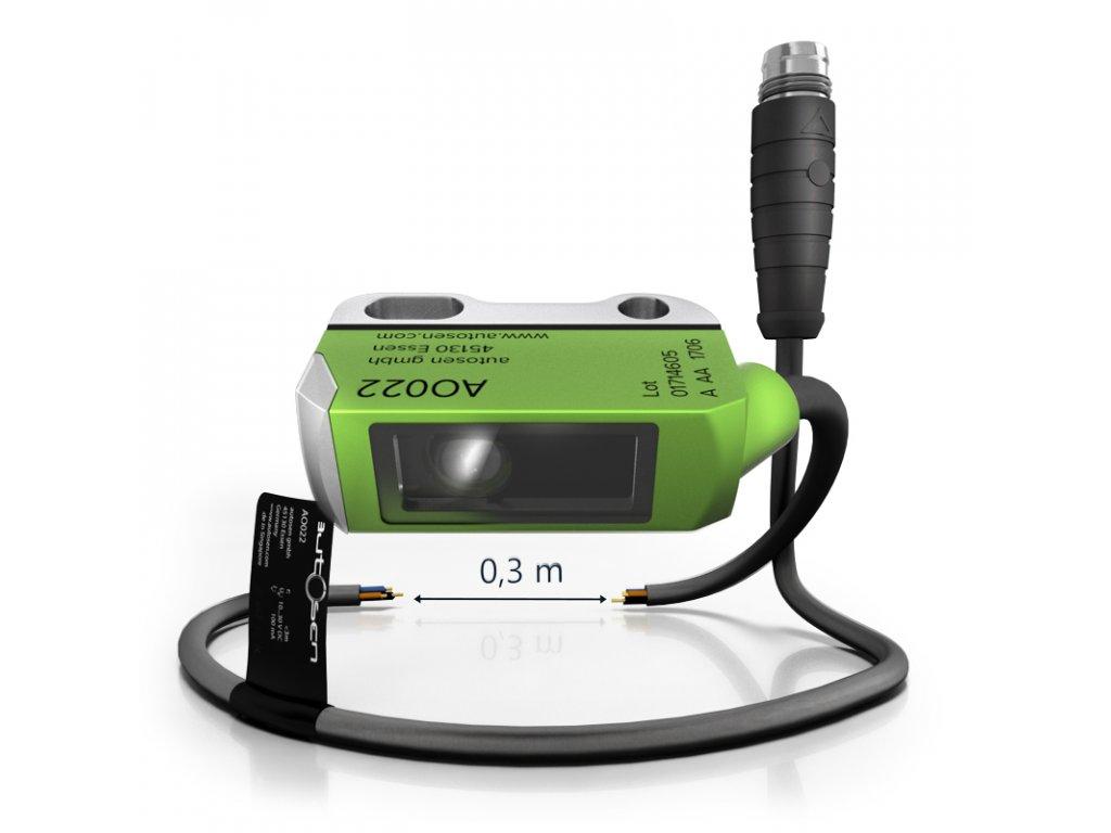 AO022 Mini optický senzor s krytem PA