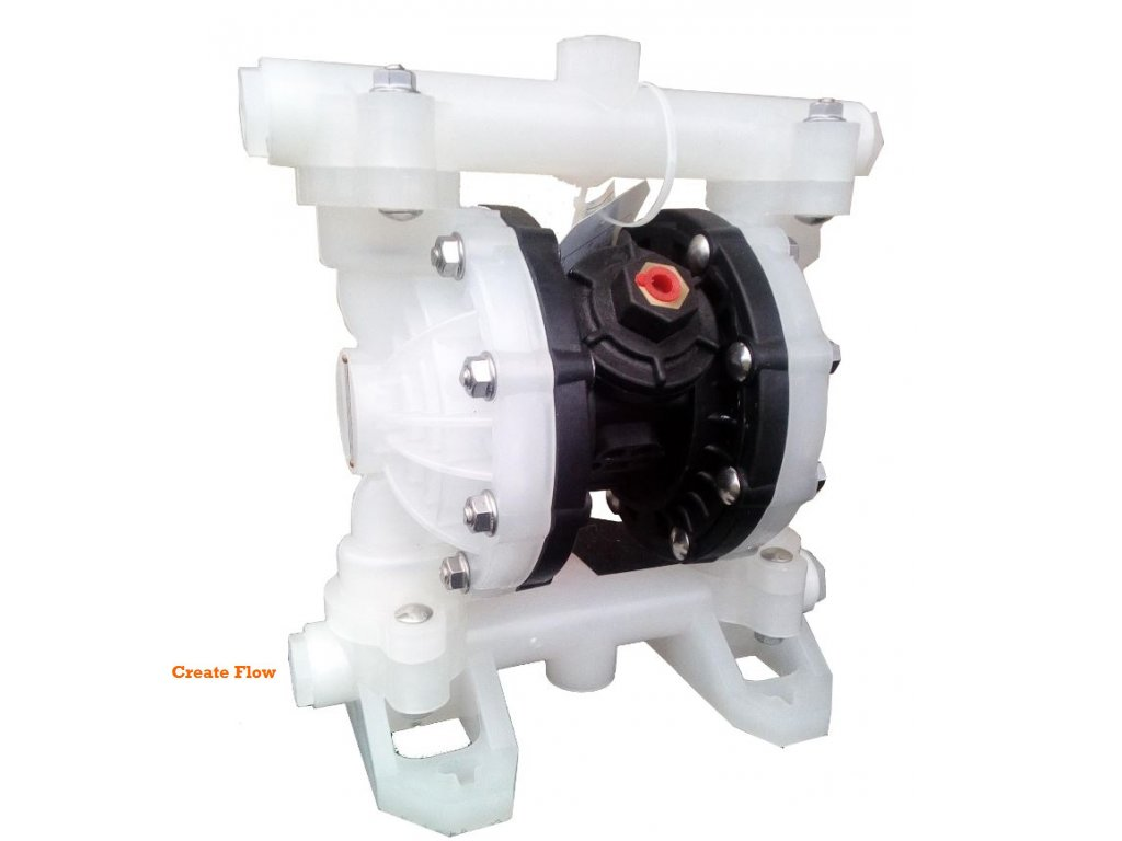 Membránové čerpadlo ADFP 15-PP-PP-SP-SP Max. výkon 57 l/min, max. výtlak 7 bar  Polypropylen/Santopren