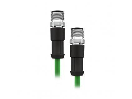 AA035 et main 800 Propojovací ethernetový kabel M12 M12