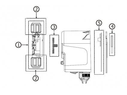 Invikta náhradní díly Crate Flow