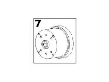 Náhradní magnet pro čerpado SEKO TEKNA 603 Crate FLow