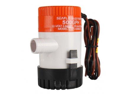 Čerpadlo bilge pro lodě na vodu SEAFLO 12 V Bilge 500 Create Flow