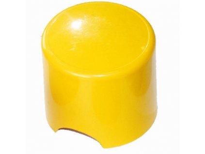 žluté tlačítko pro průmyslové dávkovací čerpadlo SEKO Create Flow