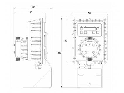 Dávkovací čerpadlo včetně ATEX certifikátu Create Flow
