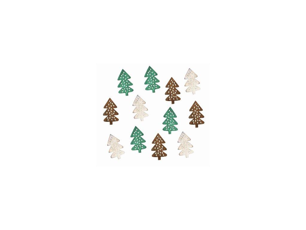 Dřevěné stromky 4cm