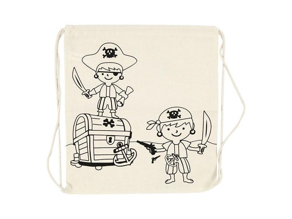 Plátěný batoh Piráti