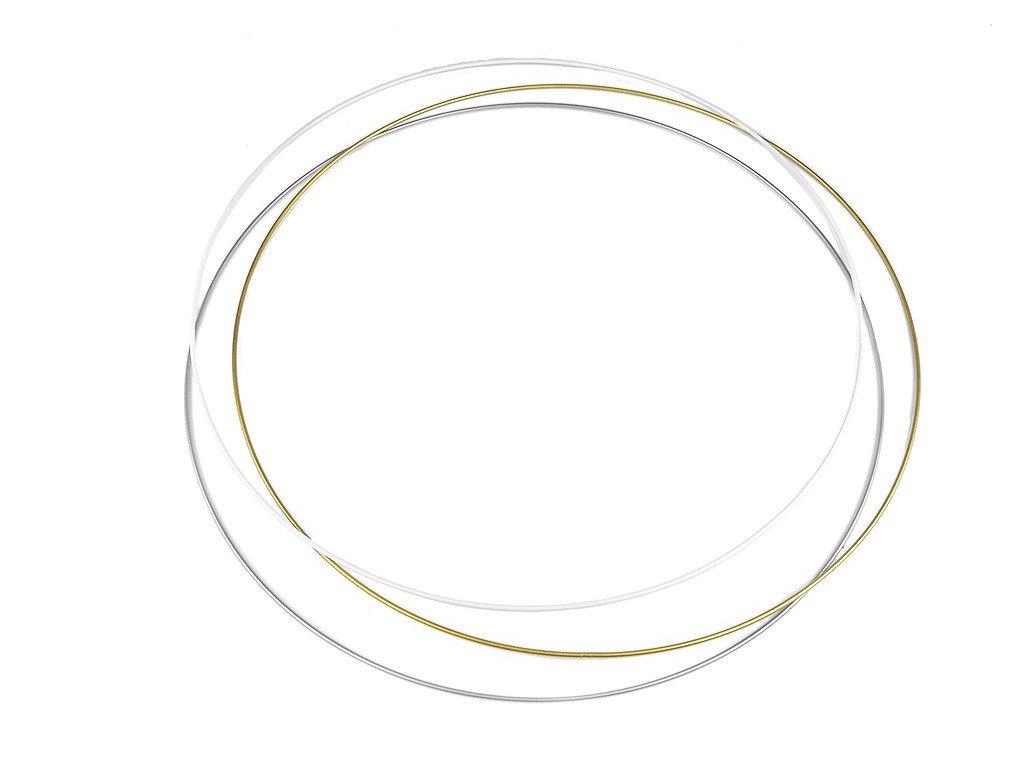 Kovový kruh na lapač snů 60 cm