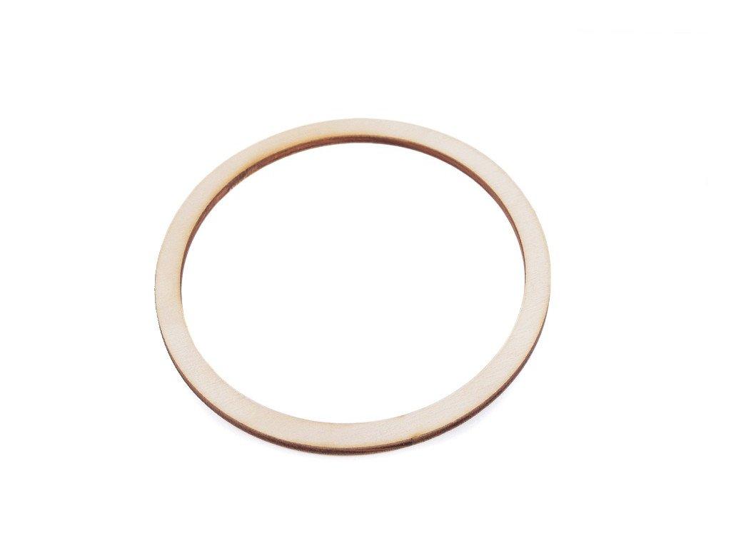 Dřevěný kruh na lapač snů 12cm