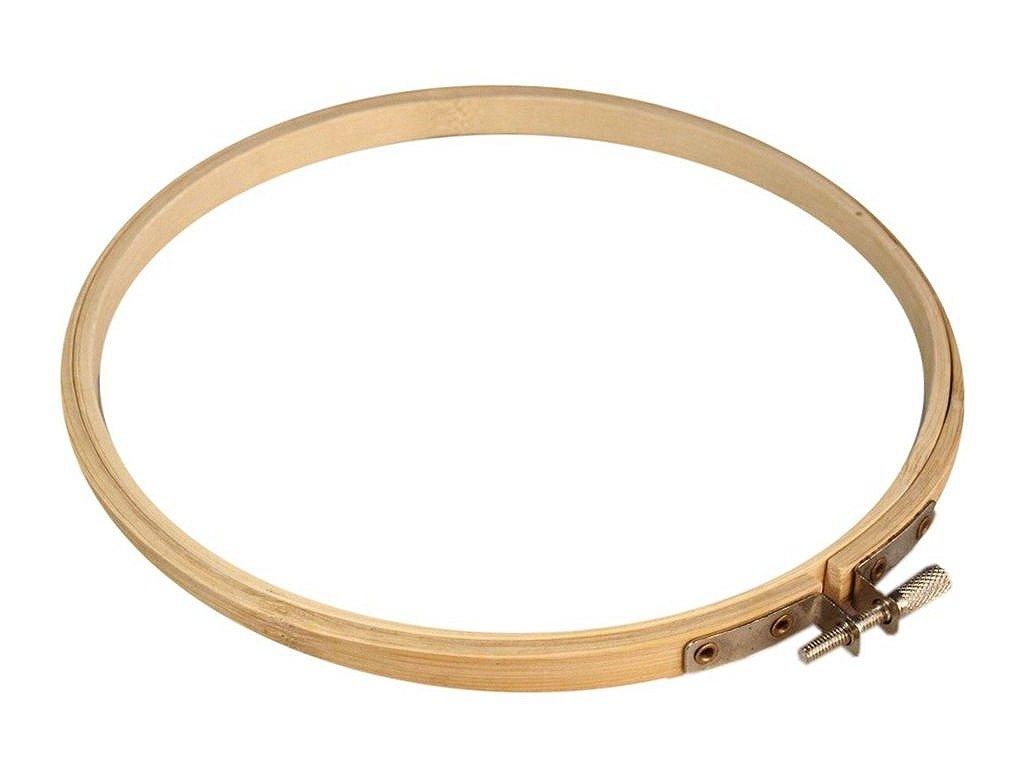 Vyšívací kruh bambusový Ø19,7 cm