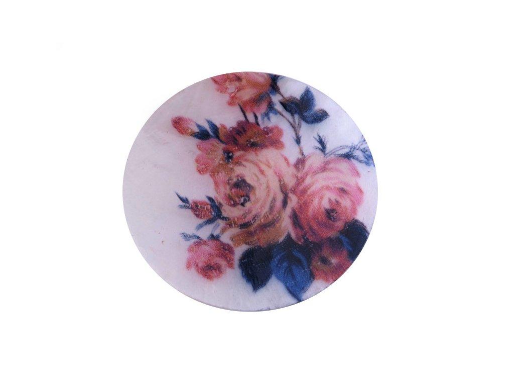 Perleťové placky tenké, 50mm