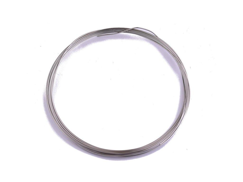 Nerezový drát polotvrdý 0,8 mm