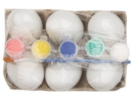 Sada plastových vajíček k dozdobení