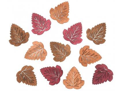 Listy dřevěné 4 cm, 12 ks