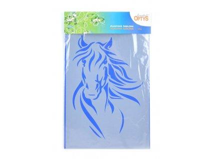 Šablona Hlava koně 1, 20 x 30 cm