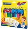 Foukací fixy na papír BLO pens RAINBOW 10 ks
