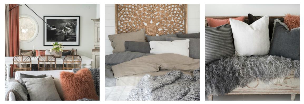 Bytový textil jesenná kolekcia