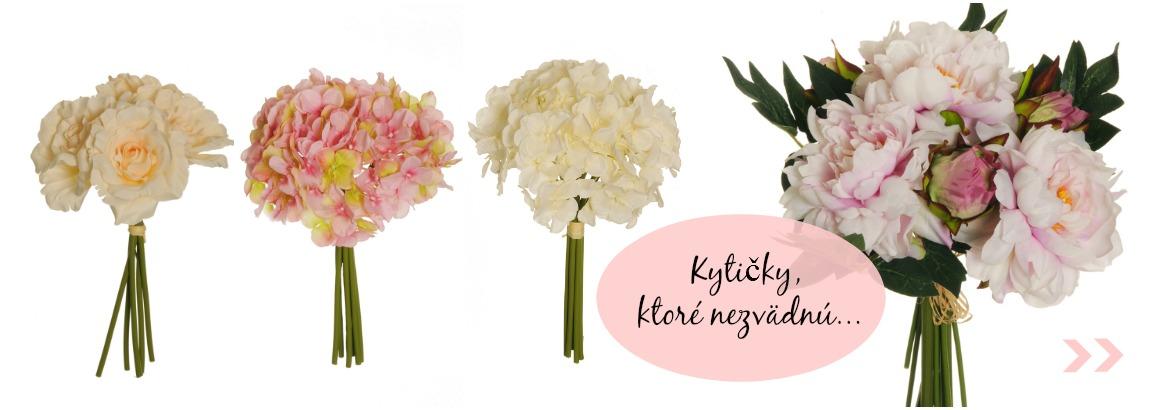 Umelé kvety - kytičky