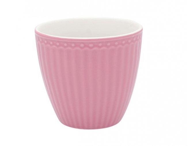 latte cup alice dusty rose