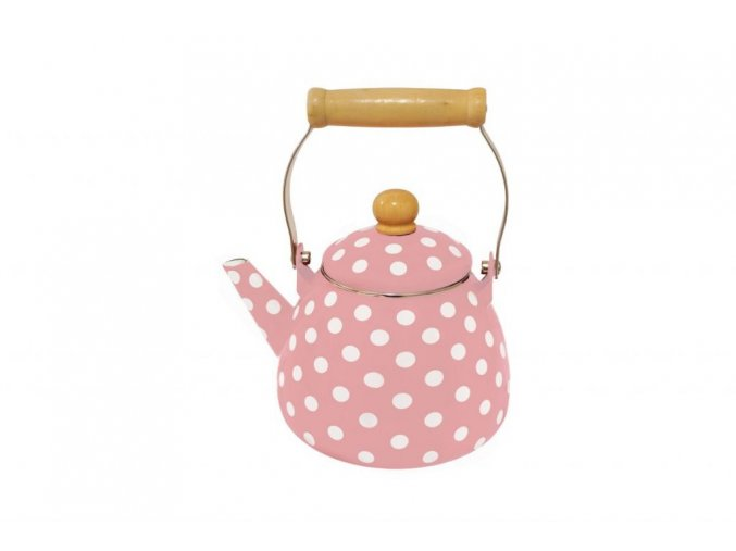 Čajník polka dots