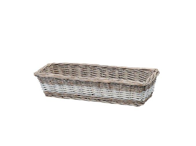 Prútený košík na chlieb