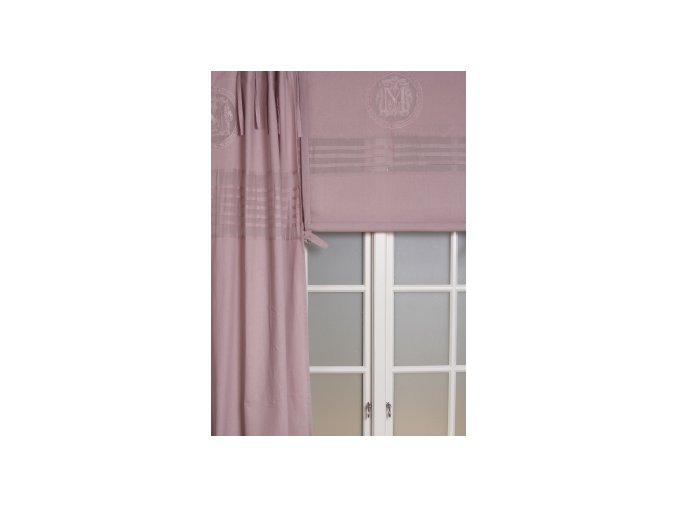 Textilná roleta Melly - š.160cm - ružová
