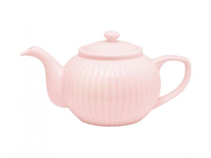 Čajník Alice pale pink