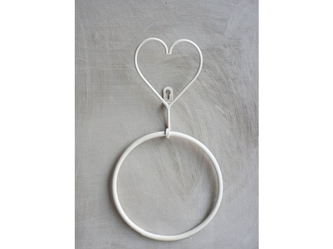Vešiak na uterák - kruh