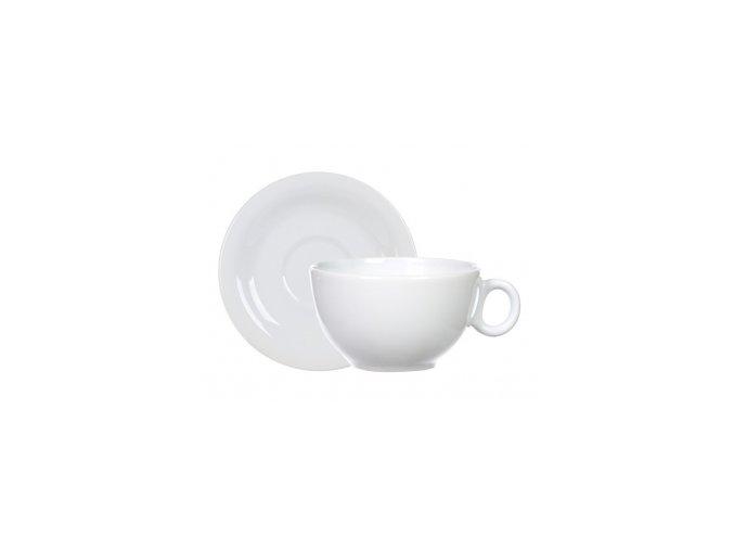 Jumbo šálka s tanierikom