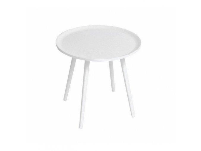 Príručný okrúhly stolík