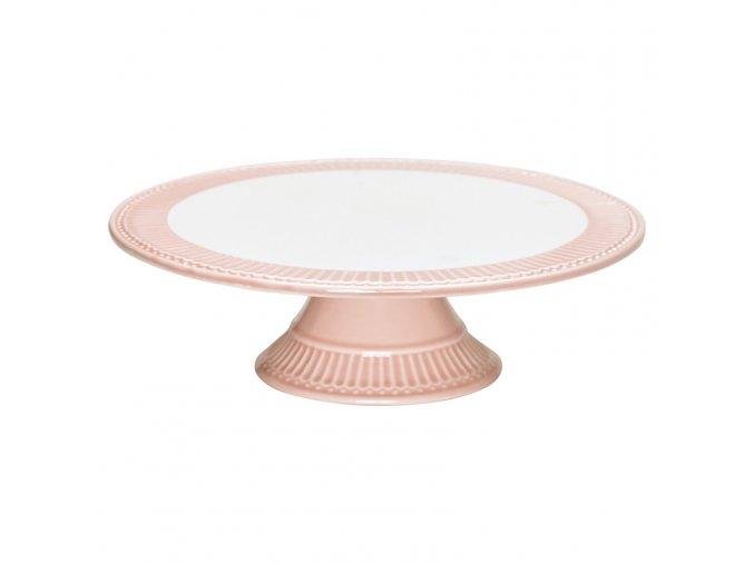 Tortový podnos Alice pale pink