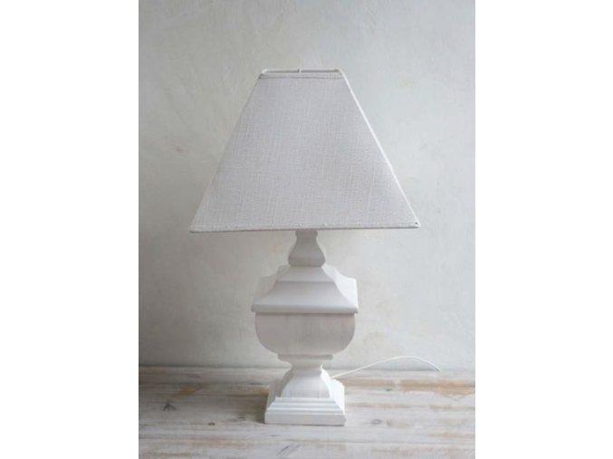 Stolová lampa biela