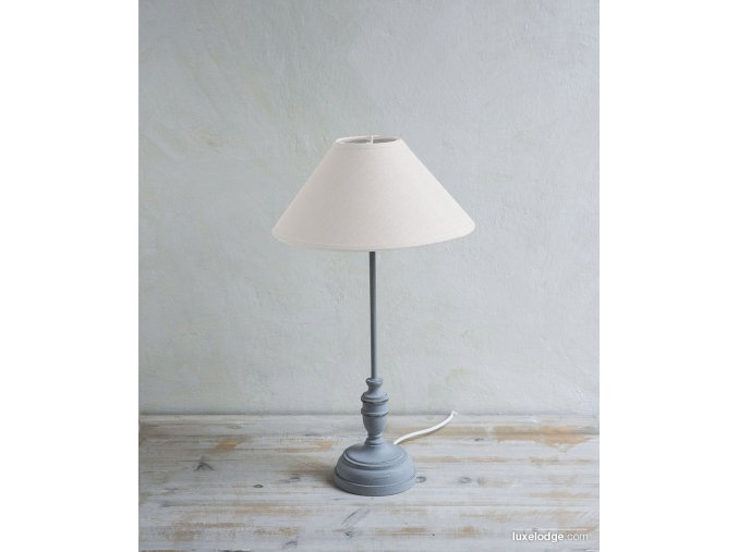 Lampa - sivá