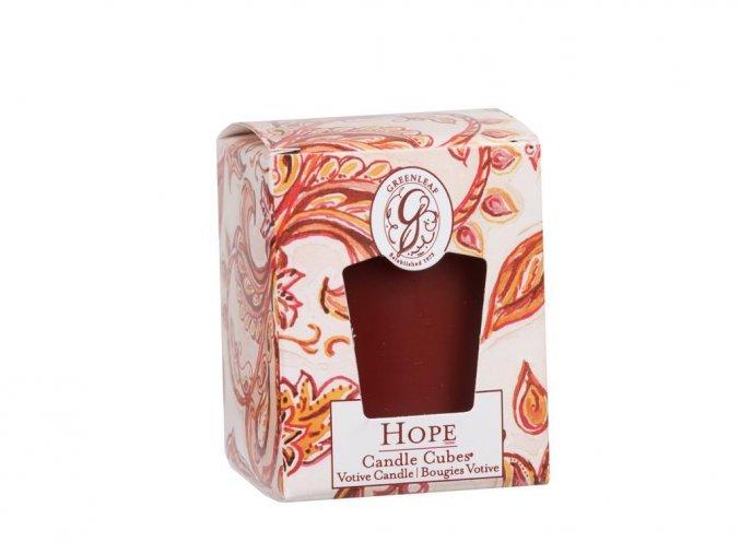 Vonná sviečka - HOPE
